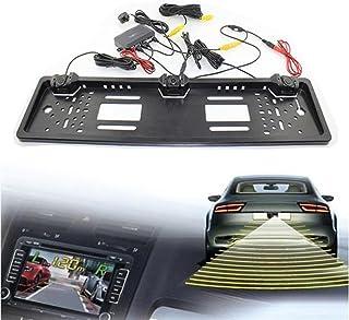 euzeo nueva placa de matrícula impermeable cámara de marcha atrás Radar