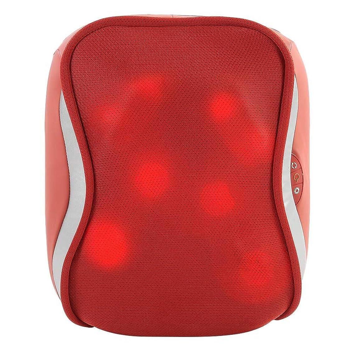 異常人質自動指圧バックマッサージ、多機能ボディチェアシートクッション、腰、肩、筋肉痛ホーム、オフィス、車、ベッド用
