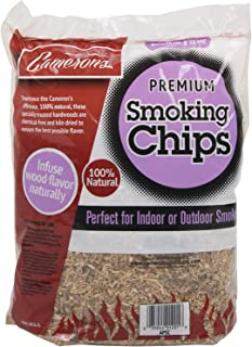 Camerons Smoking Chips - (Bourbon Soaked Oak) 260 cu. in. (0.004m³) - Kiln Dried, 100% Natural...