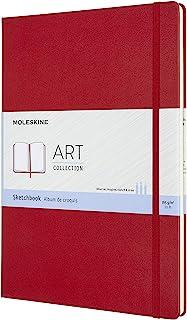 Moleskine Skizzenbuch A4, 165g-Papier, Rot