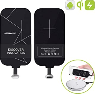 Nillkin Qi Wireless Charger Receiver, Ultra Thin 0.16cm Magic Tag Wireless Charging Receiver Patch Module Chip for Google Pixe/Nexus 6P and Other Small Size USB-C Phones
