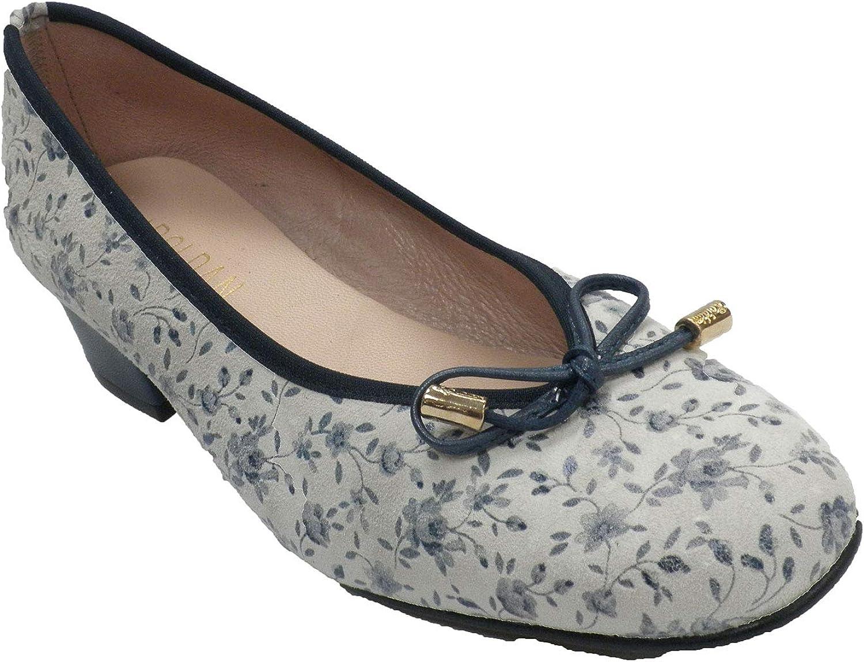 Roldan Frau Schuhe Art Blaumendruck beig    Hohe Qualität