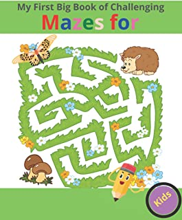 My First Big Book of Challenging Mazes for Kids: Mazes to Test Your Skill! (Challenging... Books)