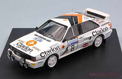 estar en gran demanda Trofeu TF1617 Audi Quattro N.8 N.8 N.8 4th R.A.C. 1985 P.EKLUND-B.CEDERBERG 1 43 Model Compatible con  envio rapido a ti