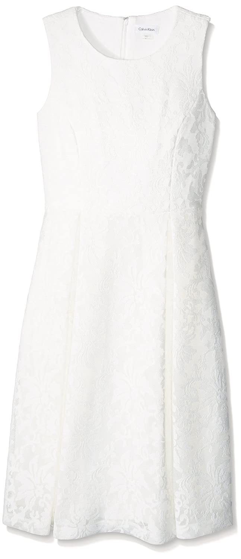 Calvin KleinレディースSleeveless Mid Lengthドレス