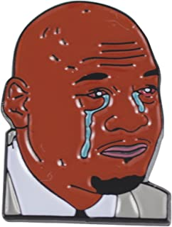 Crying Jordan Pin