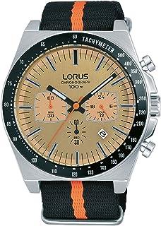 لوراس ساعة للرجال - حزام قماش - RT355GX9
