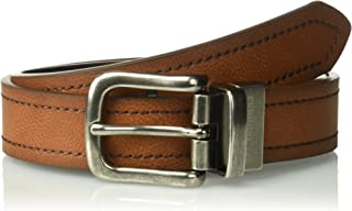 "Columbia Big Boys' 1"" Wide Reversible Belt with Double Stitch"