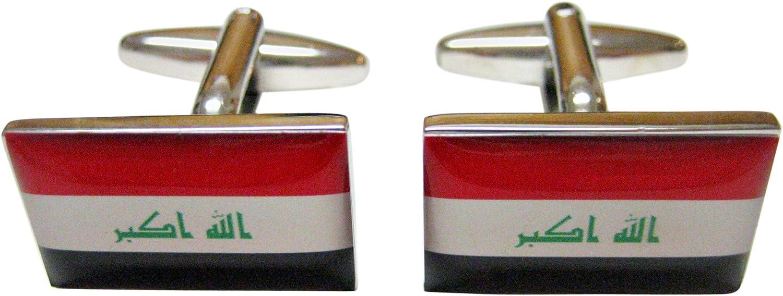 Iraq Flag Cufflinks