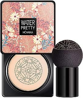 gLoaSublim Foundation Makeup,Flower Air Cushion BB Cream Face Concealer Anti Wrinkle Oil-control Moisturizer Ivory White 2
