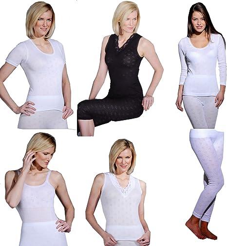 Delux Wear Ladies Thermal Underwear Sleeveless Cotton Vests