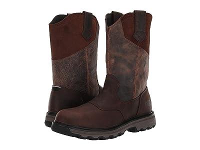 Caterpillar Leeward Soft Toe (Classic Brown Full Grain Leather) Men