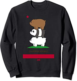 We Bare Bears California Flag Sweatshirt