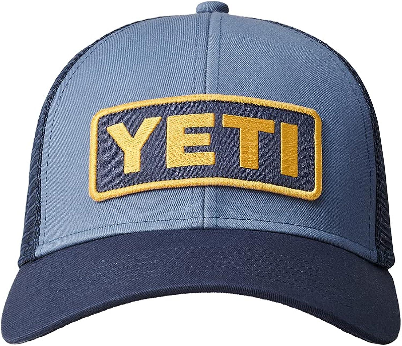 YETI Logo Badge Mid-Profile Trucker Hat with Bureo Brim