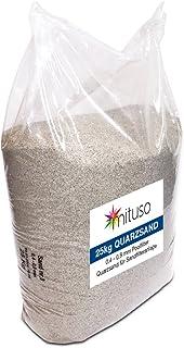 comprar comparacion Mituso - Arena de Cuarzo para Filtro de Arena, 1 Unidad (25 kg)