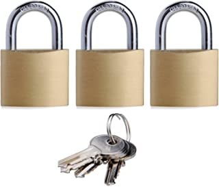 padlock keyed alike 6 pack