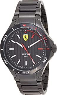 Scuderia Ferrari Men's Analogue Quartz Watch with Stainless Steel Strap 0830763