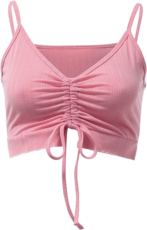 Tank Top for Women,Women Crop Top Sexy Backless Slim E-Girl Camis Fashion Streetwear Tee Y2K Top