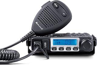 Midland M-MINI Radio USB CB - Multistandard Mini CB Radio z gniazdem USB - 40 AM/FM, wielopasmowe, tryb podwójnego kwadrat...