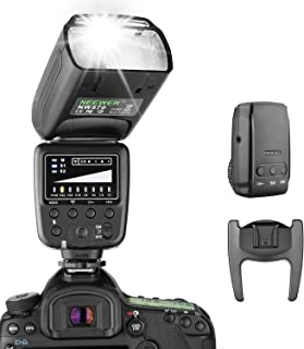 Neewer Flash Speedlite with 2.4G Wireless System and 15 Channel Transmitter for Canon Nikon Sony Panasonic Olympus Fujifil...