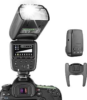 Neewer® Blitz Speedlite 433MHz Funksystem ve 16-Kanal-RT verici Canon Nikon için Sony Panasonic Olympus Fujifilm Pentax ve diğer DSLR-Kameralar ile standart Blitzschuh (NW570)