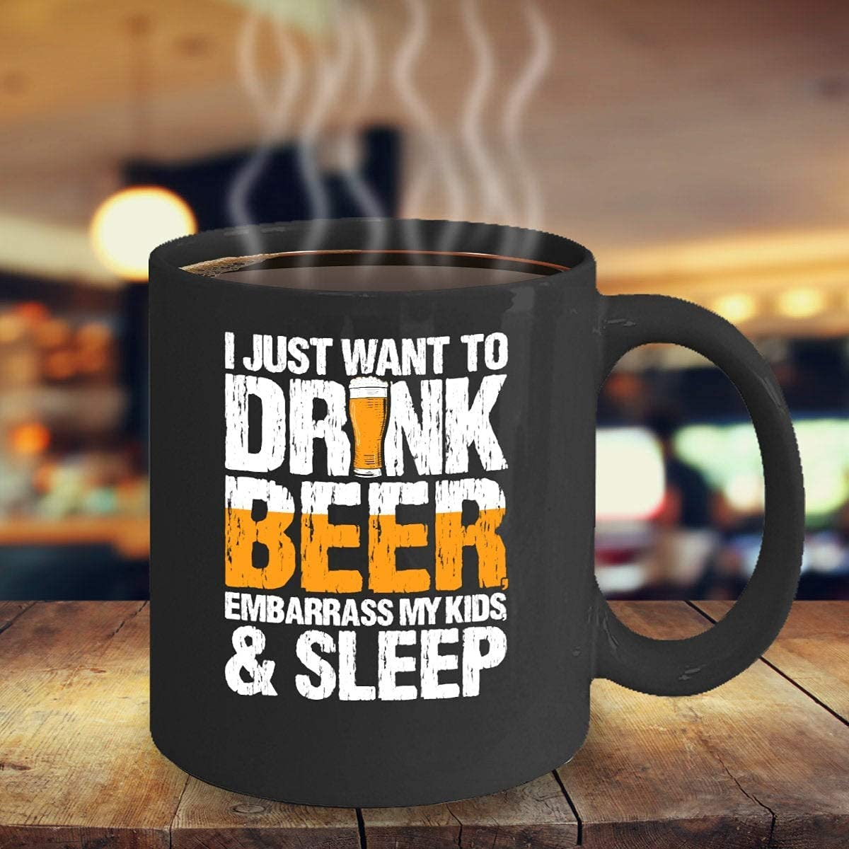 Award Beer Lover Gift Birthday Sarcastic I Just Cof TO Want Selling Drink