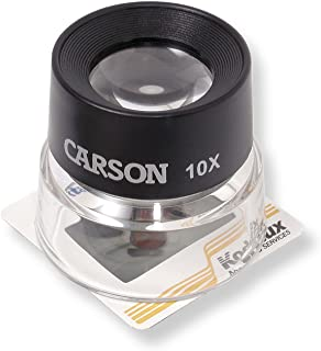 Carson LumiLoupe Series Pre-Focused Stand Magnifier Loupes (LL-10, LL-20, LL-55, LL-77)