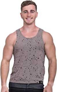 TADDLEE Men Tank Top Tees Sleeveless Cotton Muscle Tshirt Slim Fit Soft Singlets