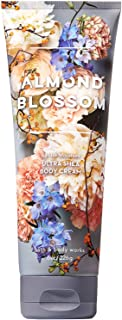 Bath and Body Works Almond Blossom Ultra Shea Body Cream (24-Hr Moisture) 8 Ounce