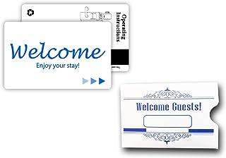 Hotel & Motel Magnetic Stripe Key Cards (500 w/envelopes)