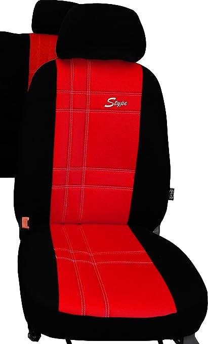 Pokter Alc T5 6 Sitzer Maßgefertigte Sitzbezüge S Type Rot Auto