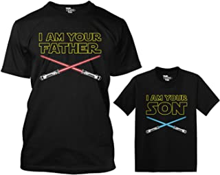 I Am Your Father/I Am Your Son Matching Toddler & Men's T-Shirt