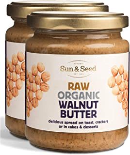 Sun and Seed – Organic Raw Butter – Gluten Free and Keto Friendly – Ultra Healthy And Nutritious High Protein Spread – Made With Only Raw Organic Nuts – Stone Ground