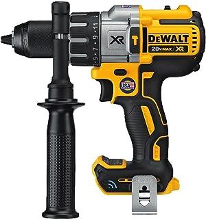 DEWALT 20V MAX XR Hammer Drill, Tool Connect Bluetooth, Tool Only (DCD997B)