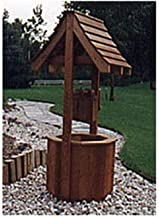Woodworking Project Paper Plan to Build Garden Wishing Well