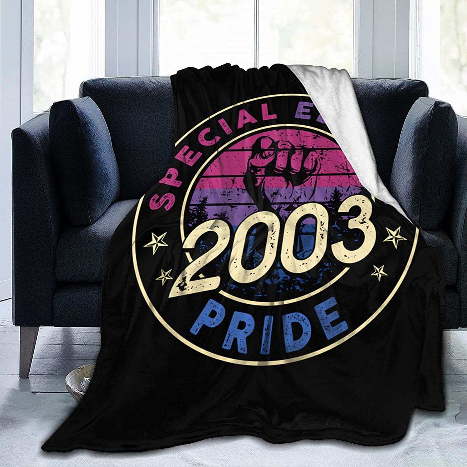 2003 Fixed price Recommended for sale Birthday Ultra-Soft Micro Fleece Coz Throw Blankets Bed