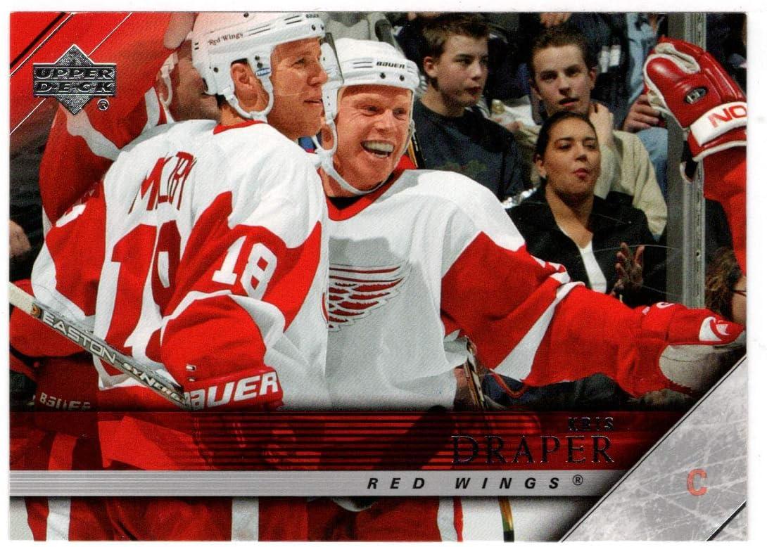 Kris security Draper - Detroit Red Wings 2005-06 Deck Max 61% OFF Hockey Card Upper