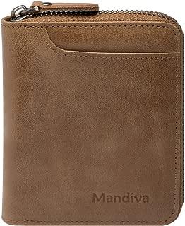 [Mandiva] 財布 本革 メンズ コンパクト