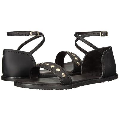 Hunter Original Leather Studded Sandal (Black) Women