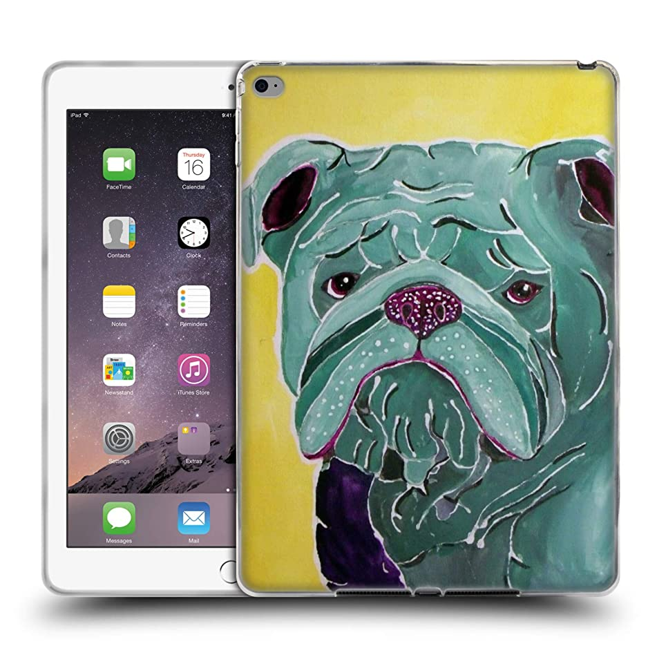 Official Lauren Moss Roscoe Dogs Soft Gel Case for iPad Air 2 (2014)
