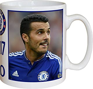 Content Gateway Official Personalized Chelsea FC Pedro Autograph Mug - Free Personalisation
