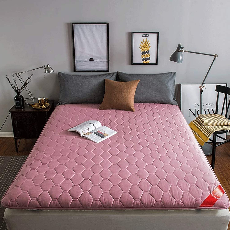 6cm Thick Mattress, Household Cotton Tatami Mat, Washable Cushion G (color   E, Size   120X200cm)