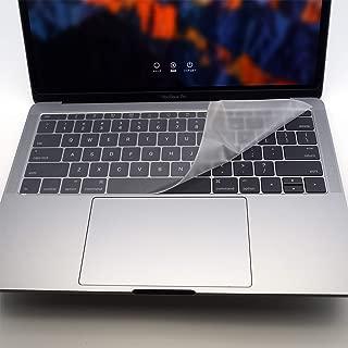 フルフラットキーボードカバー (2016 - MacBook Pro 13 Non Touch Bar, 極薄ポリウレタンエラストマー) PWK10