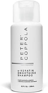 Peter Coppola a-Keratin Smoothing Shampoo 10 oz - - Smoothy Silky Hair - For Keratin Treated Hair - Infused with Argan Oil - Voluminous Hair