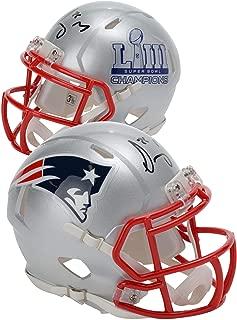 Sony Michel New England Patriots Autographed Riddell Speed Super Bowl LIII Champions Mini Helmet - Fanatics Authentic Certified