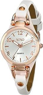 XOXO Women's XO3399 Analog Display Analog Quartz White Watch