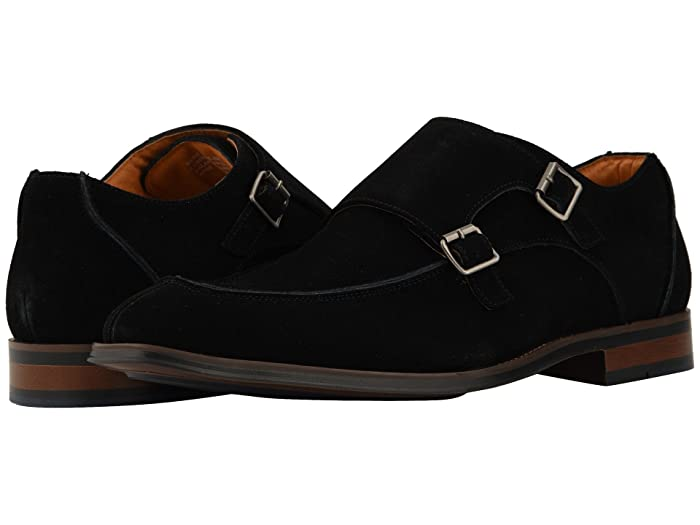 ca5f472b738e8 Stacy Adams Balen Double-Monk Strap Loafer at Zappos.com