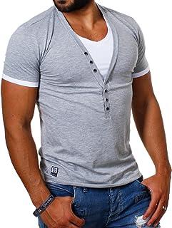 Suchergebnis auf für: tshirt mit knopfleiste in
