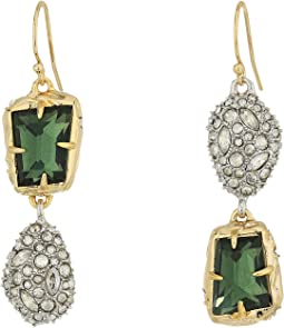 Alexis Bittar - Mismatched Stone Wire Earrings