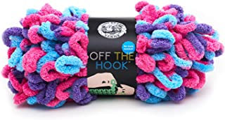 Lion Brand Yarn 516-201 Off The Hook Yarn, Hugs and Kisses